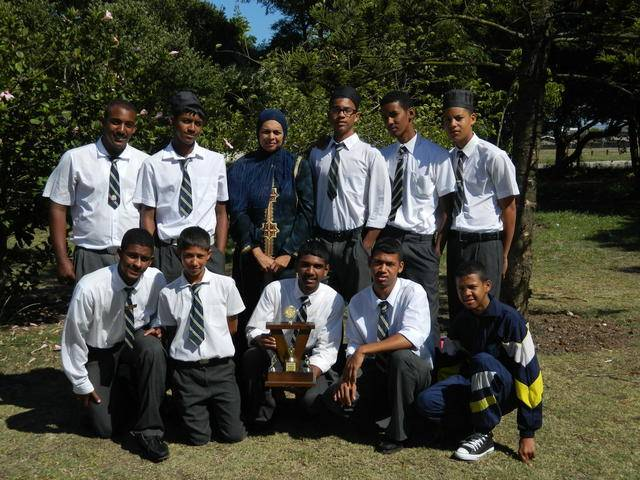 Five of our boys made the Eastern Province Volleyball Team in July. They represented us in Limpopo during the school holidays.The team who made EP is:David Padayachee,Yaseen Hendricks,Toyer Maarman,Sureshen Moothoo,Zaahier Domingo and the girls are:Volente Hobson and Mischka Venter.